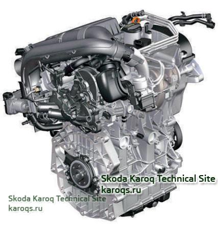 Бензиновый двигатель 1,4 л TSI (92 кВт / 125 л.с.) с буквенным обозначением CZCA