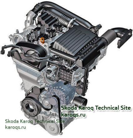 Бензиновый двигатель 1,4 л TSI (110 кВт / 150 л.с.) с буквенным обозначением CZDA