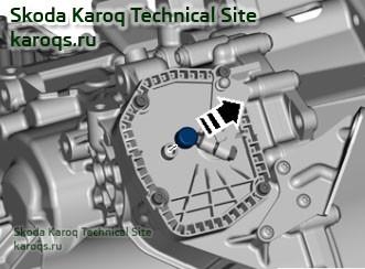 Замена масла в коробке передач 0CW (DQ200, DSG-7)