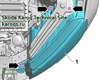 Снятие и установка фар Skoda Karoq