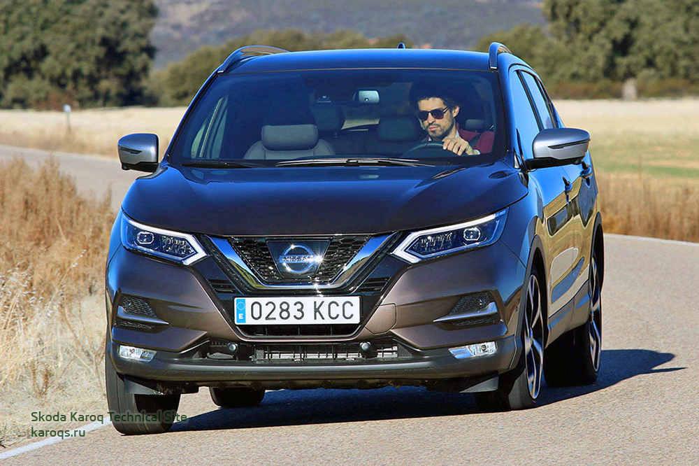 Skoda Karoq vs Nissan Qashqai: новичок против чемпиона