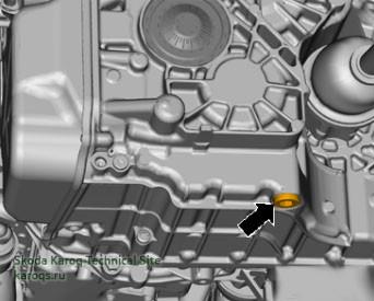 Замена масла в коробке передач 0GC (DQ381, DSG-7)