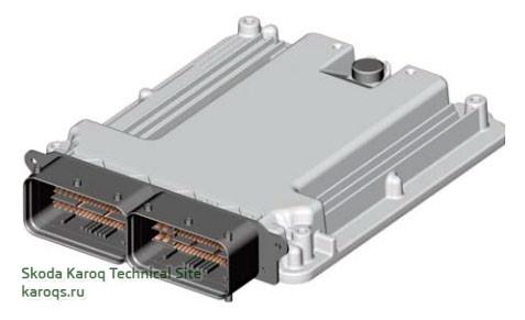 Блок управления двигателя J623