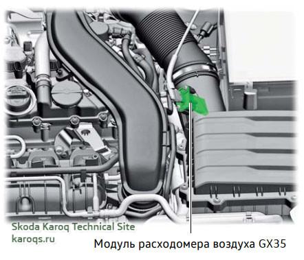 Модуль расходомера воздуха GX35